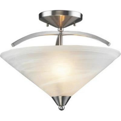 Elk Lighting 7633/2 Elysburg - Two Light Semi Flush Mount