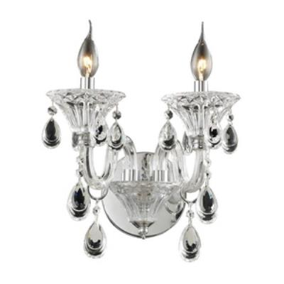 Elk Lighting 80000/2 Formont - Two Light Crystal Wall Sconce