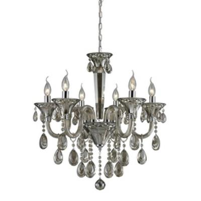 Elk Lighting 80022/6 Formont - Six Light Crystal Chandelier