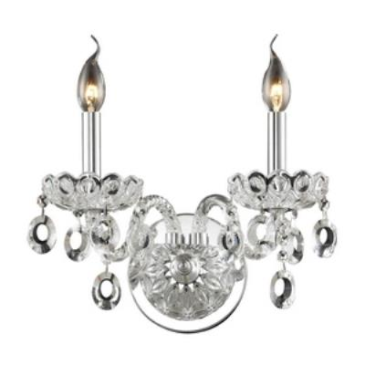 Elk Lighting 80030/2 Balmoral - Two Light Crystal Wall Sconce