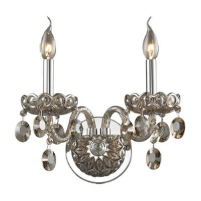 Elk Lighting 80050/2 Balmoral - Two Light Crystal Wall Sconce