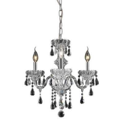 Elk Lighting 80061/3 Cotswold - Three Light Crystal Chandelier