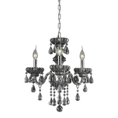 Elk Lighting 80071/3 Cotswold - Three Light Crystal Chandelier