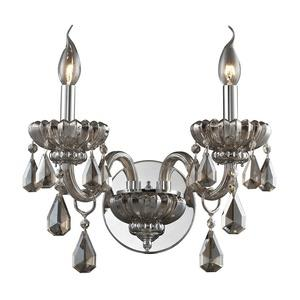 Cotswold - Two Light Crystal Wall Sconce