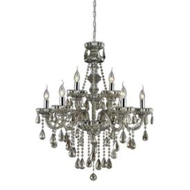 Elk Lighting 80083/6+3 Cotswold - Nine Light Crystal Chandelier