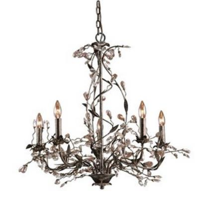 Elk Lighting 8054/5 Circeo - Five Light Chandelier
