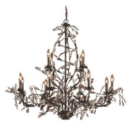 Elk Lighting 8055/8+4 Circeo - Twelve Light Chandelier