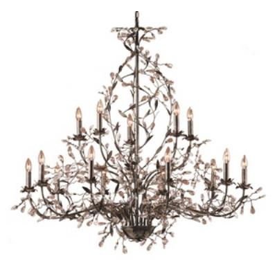 Elk Lighting 8056/10+5 Circeo - Fifteen Light Chandelier
