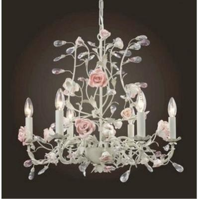 Elk Lighting 8092/6 Heritage - Six Light Chandelier