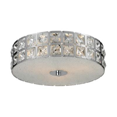 Elk Lighting 81080/3 Wickham - Three Light Flush Mount