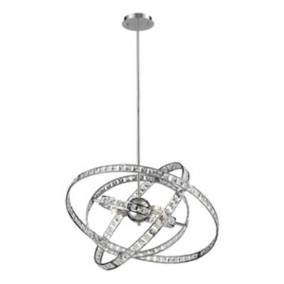 Elk Lighting 82030/6 Saturn - Six Light Crystal Pendant