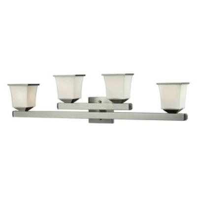 Elk Lighting 84032/4 Ziggusat - Four Light Bath Bar