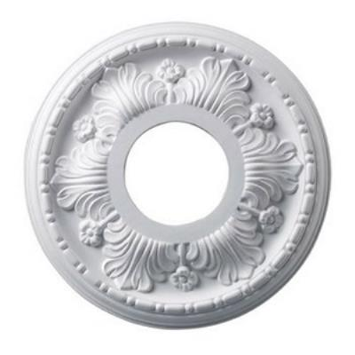 "Elk Lighting M1000WH Acanthus - 11"" Medallion"