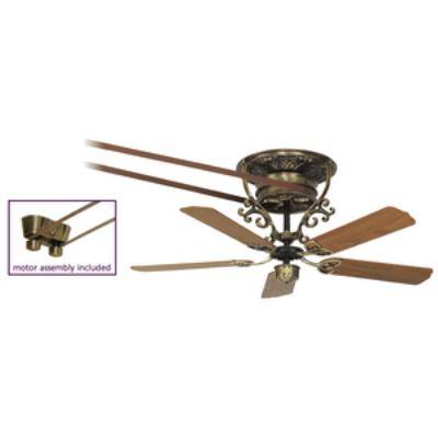 "Fanimation Fans FP580AB-18-S1 Bourbon Street - 52"" Short Ceiling Fan"