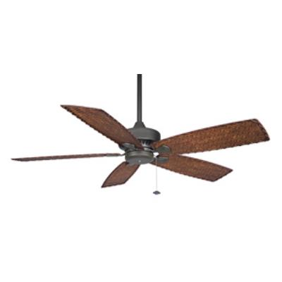 "Fanimation Fans FP8009 Cancun - 52"" Ceiling Fan Without Light Kit"