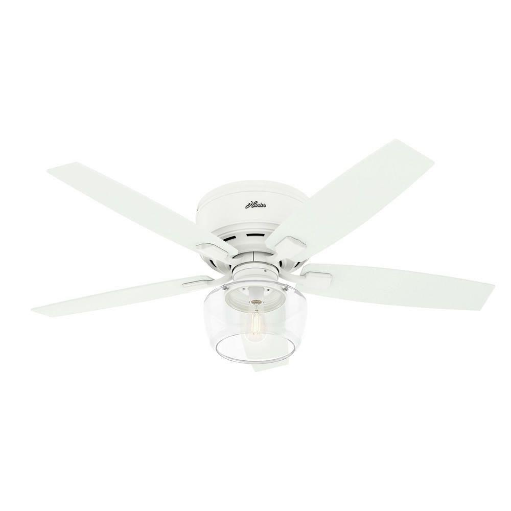 Hunter Fans 50280 Bennett Ceiling Fan With Light Kit In Rustic Style 52 Inches Wide By 15 95 Inches High