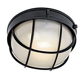 Kichler Lighting 10622BK Two Light Outdoor Wall Sconce