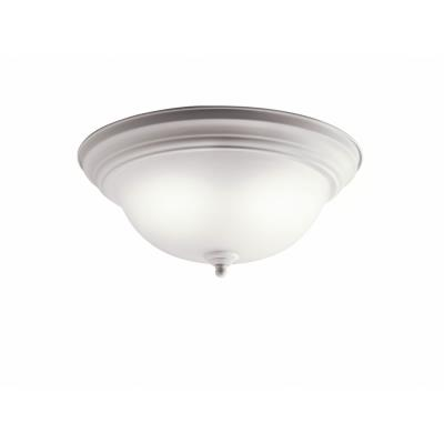 Kichler Lighting 10836WH Two Light Flush Mount