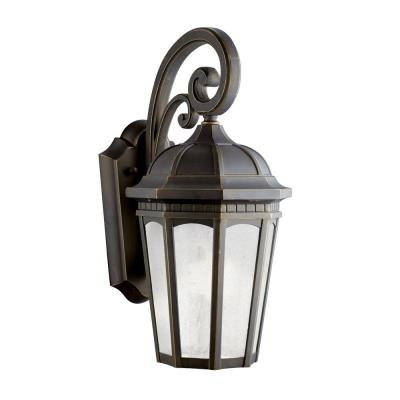 Kichler Lighting 11011RZ Courtyard - One Light Outdoor Wall Mount