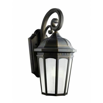Kichler Lighting 11012RZ Courtyard - One Light Outdoor Wall Mount