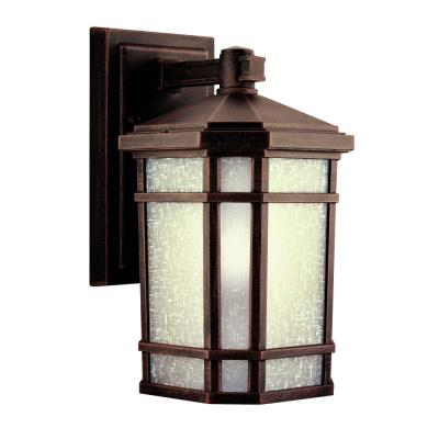 Kichler Lighting 11017PR Cameron - One Light Outdoor Wall Mount