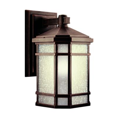 Kichler Lighting 11018PR Cameron - One Light Outdoor Wall Mount