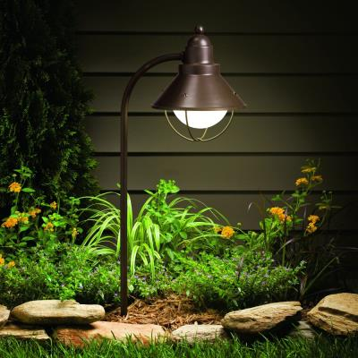 Kichler Lighting 15239OZ Line Voltage One Light Path and Spread