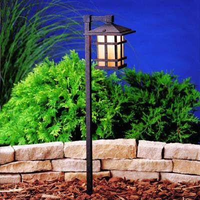 Kichler Lighting 15322AGZ Cross Creek - Low Voltage One Light Path Lamp