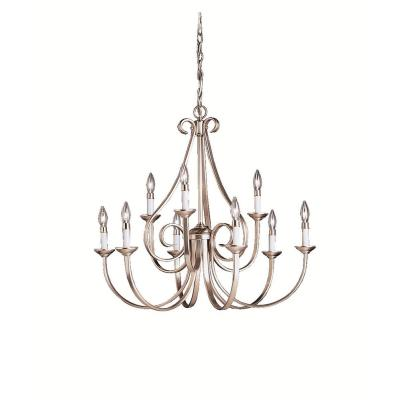 Kichler Lighting 2031NI Dover - Nine Light Chandelier