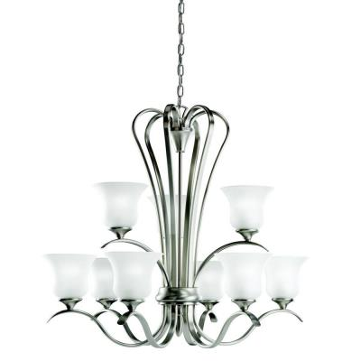 Kichler Lighting 2086NI Wedgeport - Nine Light Chandelier
