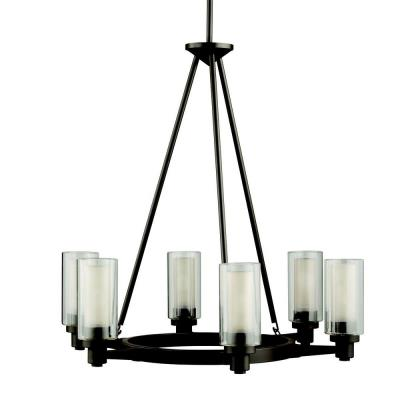 Kichler Lighting 2344OZ Circolo - Six Light Chandelier