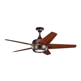 "Kichler Lighting 300137OBB Makoda - 52"" Ceiling Fan"