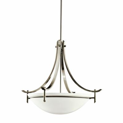 Kichler Lighting 3278AP Olympia - Three Light Inverted Pendant