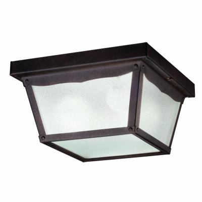 Kichler Lighting 345TZ Two Light Outdoor Flush Mount