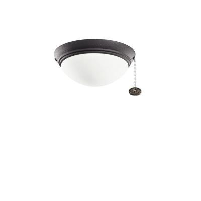 Kichler Lighting 380120DBK Low Profile - One Light Ceiling Fan Kit