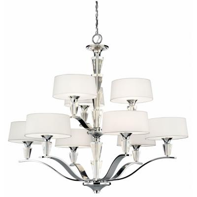Kichler Lighting 42031 Persuasion - Nine Light 2-Tier Chandelier
