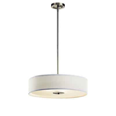 Kichler Lighting 42121NI Crystal Persuasion - Three Light Inverted Pendant