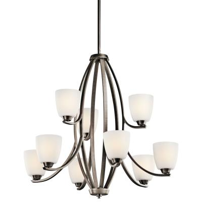 Kichler Lighting 42559BPT Granby - Nine Light Chandelier