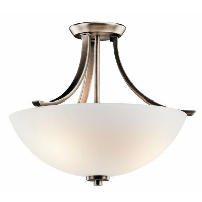 Kichler Lighting 42563BPT Granby - Three Light Semi-Flush Mount