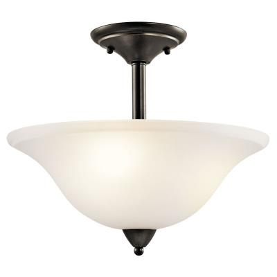 Kichler Lighting 42879OZ Nicholson - Three Light Semi-Flush Mount
