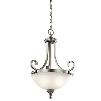 Kichler Lighting 43163NI Monroe - Two Light Inverted Pendant
