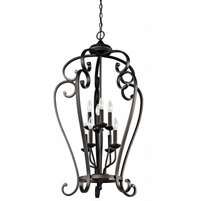 Kichler Lighting 43166OZ Monroe - Eight Light Foyer