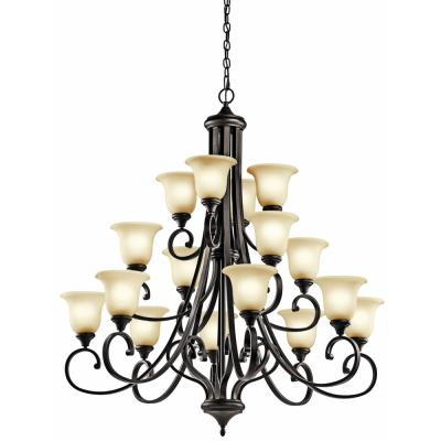 Kichler Lighting 43192OZ Monroe - Sixteen Light Multi Tier Chandelier