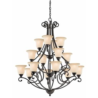 Kichler Lighting 43234OZ Camerena - Sixteen Light Multi Tier Chandelier