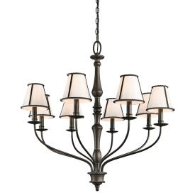 Kichler Lighting 43344OZ Donington - Eight Light Large Chandelier