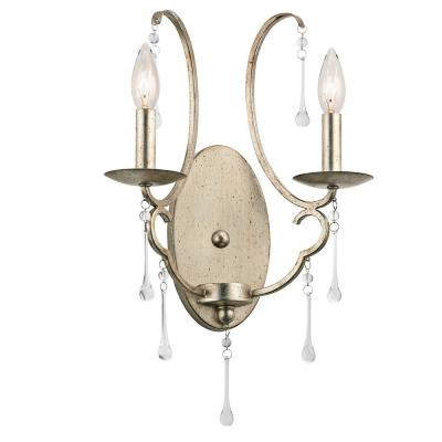 Kichler Lighting 43623SGD Shelsley - Two Light Wall Sconce
