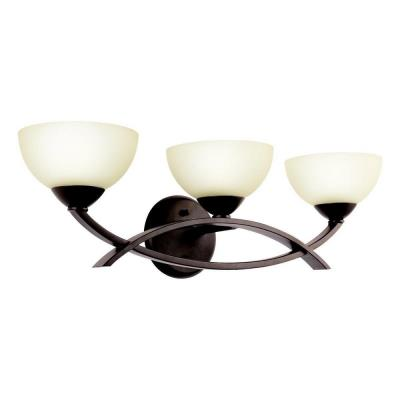 Kichler Lighting 45163OZ Bellamy - Three Light Bath Bar