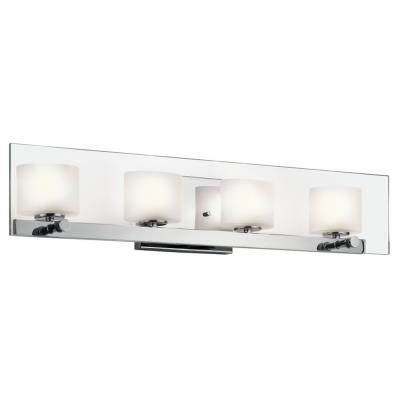 Kichler Lighting 45173CH Como - Four Light Bath Bar