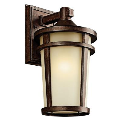 Kichler Lighting 49072BSTFL Atwood - One Light Outdoor Wall Mount