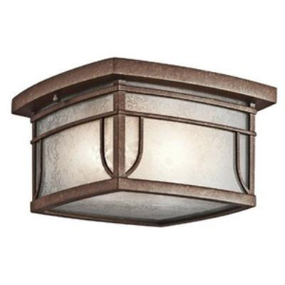 Kichler Lighting 49153AGZVM Soria - Two Light Outdoor Flush Mount